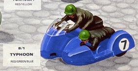 Typhoon Motorbike and Sidecar