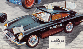 Marshal's Car with Lights