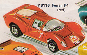 Ferrari P4 - 'You Steer' Car