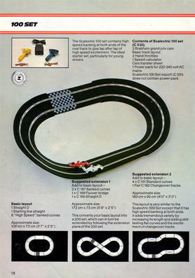Scalextric 100 Set