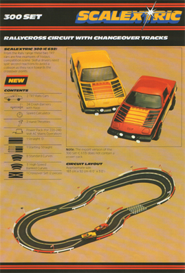 Scalextric 300 Set