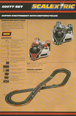 Scalextric 500TT Set