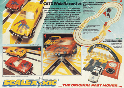 Web Racer Set