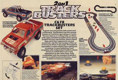 Trackbusters Set