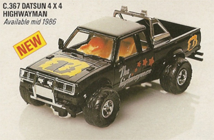 Datsun 4x4 King Cab - The Highwayman