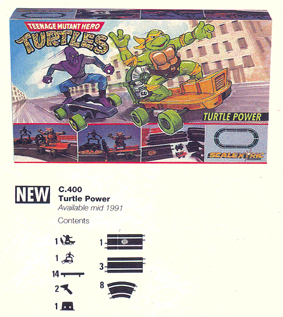 TMNT - Turtle Power Set