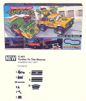 TMNT - Turtles To The Rescue Set