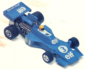 Tyrrell Ford 007