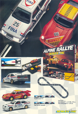 Alpine Rallye Set