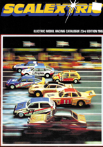 Scalextric - Electric Model Racing Catalogue - 23rd Edition 1982